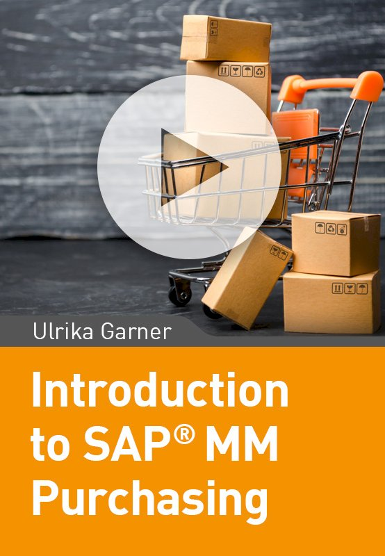Introduction to SAP MM Purchasing
