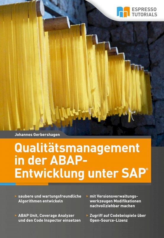 Qualitätsmanagement in der ABAP-Entwicklung unter SAP