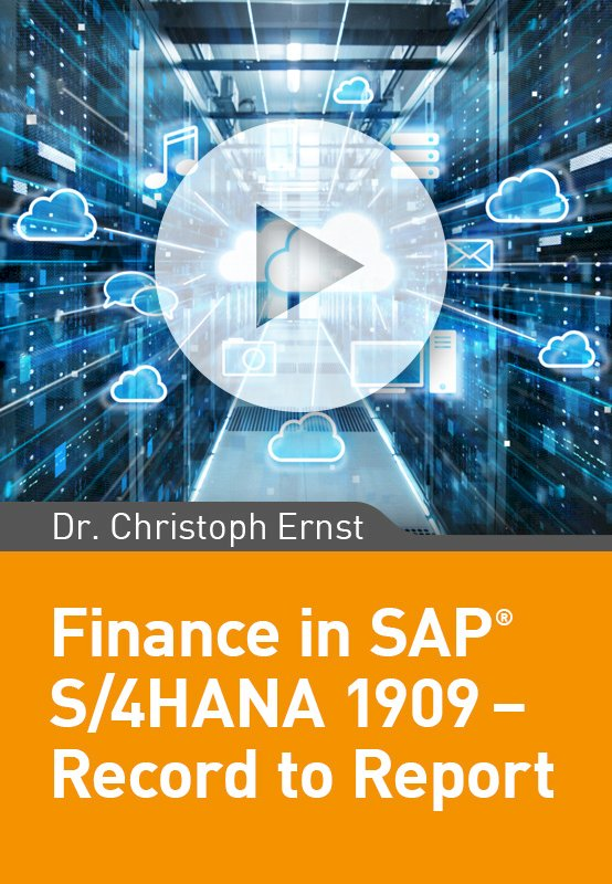 Finance in SAP S/4HANA 1909 – Record to Report