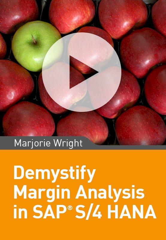 Demystify Margin Analysis in SAP S/4 HANA