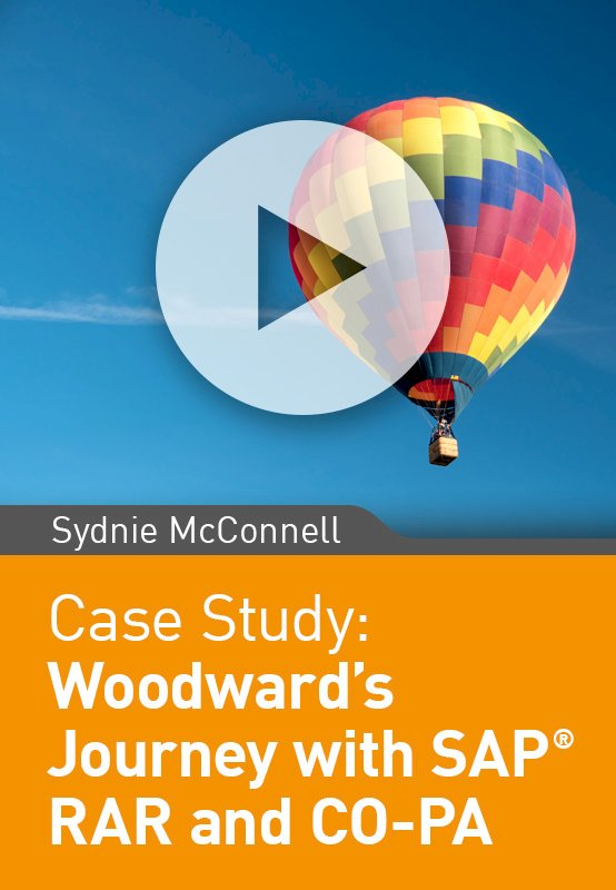 Woodward's Journey with SAP RAR and CO-PA