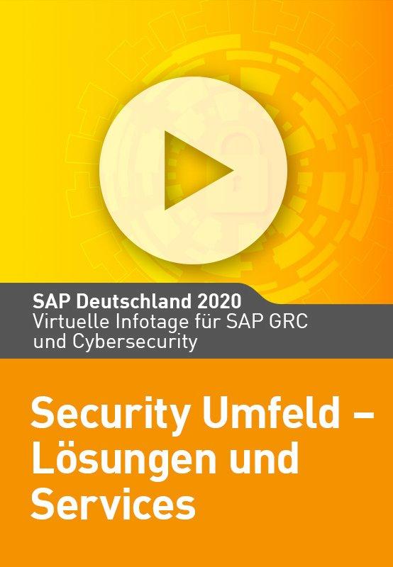 Security Umfeld – Lösungen und Services