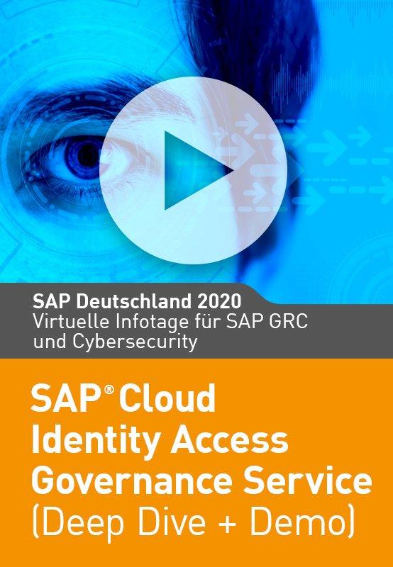 SAP Cloud Identity Access Governance Service (Deep Dive + Demo)