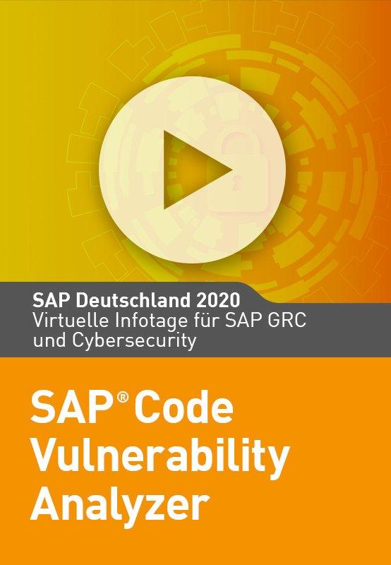 SAP Code Vulnerability Analyzer