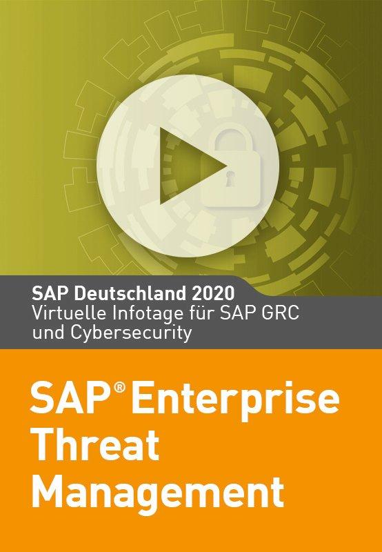 SAP Enterprise Threat Management