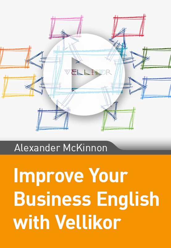 Improve your Business English with Vellikor