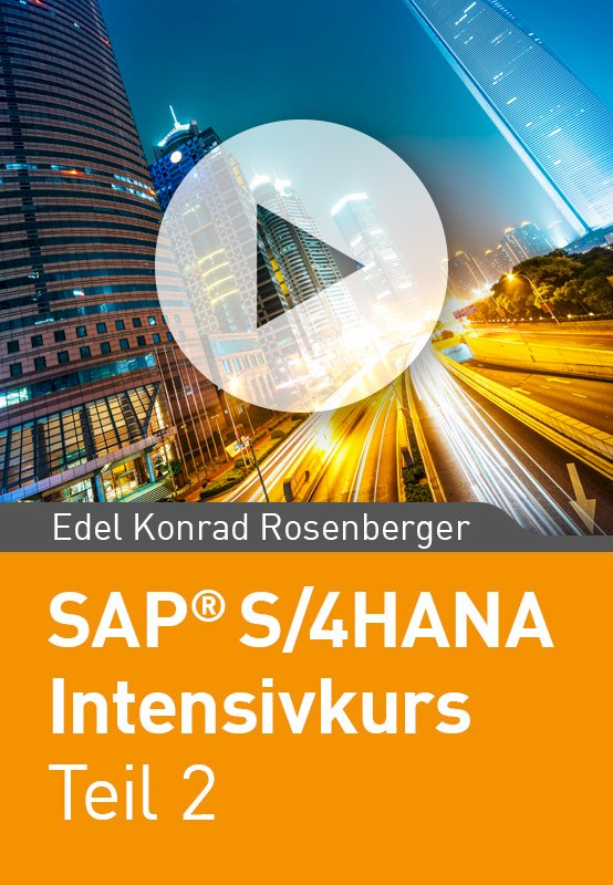SAP S/4HANA Intensivkurs Teil 2 (IT-Strategie, Migration, Finanzwesen im Detail)
