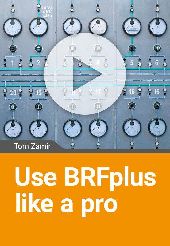 Use BRFplus like a pro