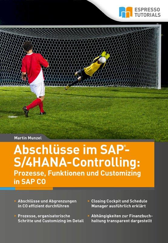 Abschlüsse im SAP-S/4HANA®-Controlling: Prozesse, Funktionen und Customizing in SAP CO