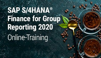 SAP S/4HANA Finance for Group Reporting Version 2020