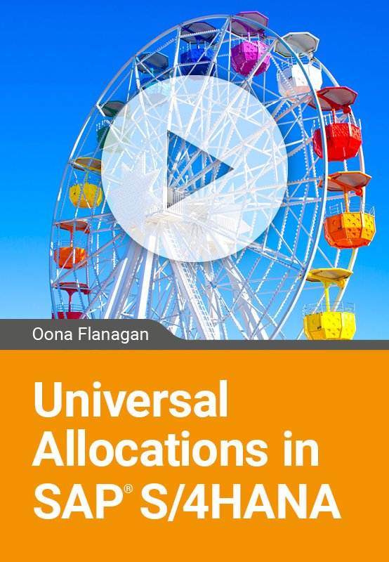 Universal Allocations in SAP S/4HANA