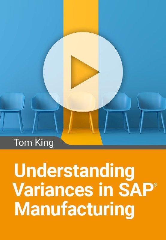 Understanding Variances in SAP Manufacturing