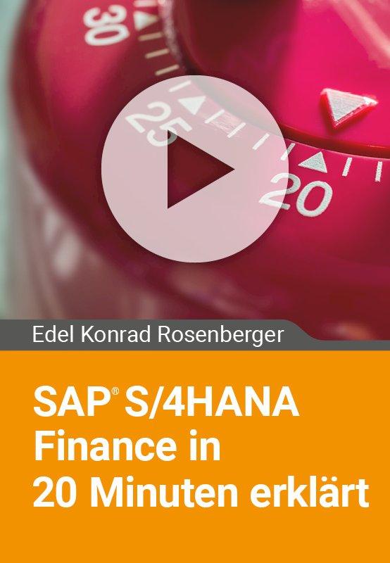 SAP S/4HANA Finance in 20 Minuten erklärt