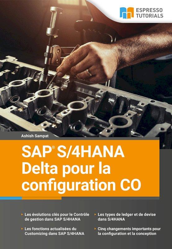 SAP S/4HANA Delta pour la configuration CO