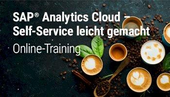 SAP Analytics Cloud – Self-Service leicht gemacht