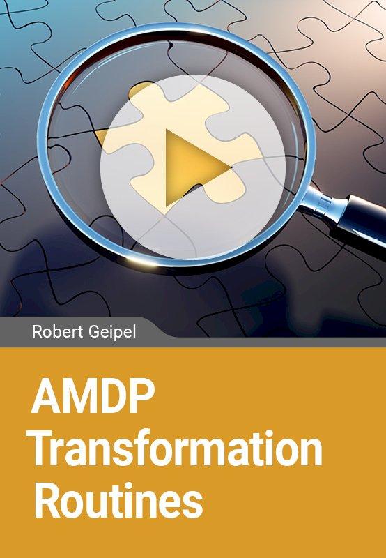 AMDP Transformation Routines